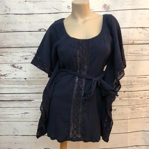 French Connection Navy Dress | Size XS
